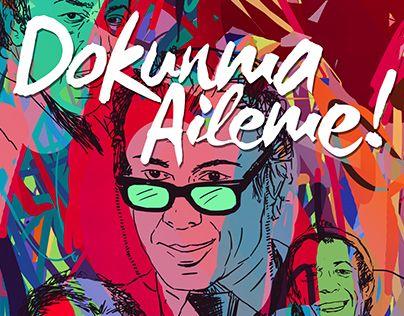 "Check out new work on my @Behance portfolio: ""Türk Komedyenler ve Unutulmaz…"