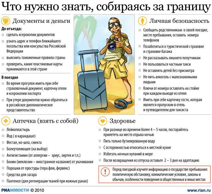 Советы туристу, собирающемуся за границу | РИА Новости