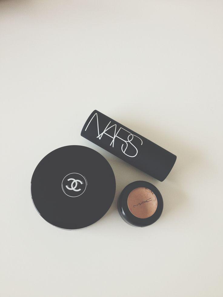 Essentials: Chanel, Mac, Nars // Jacqui Barhouch