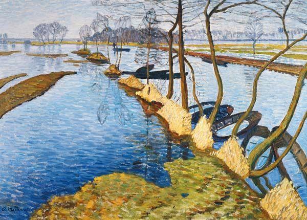 Otto Modersohn-Überschwemmung