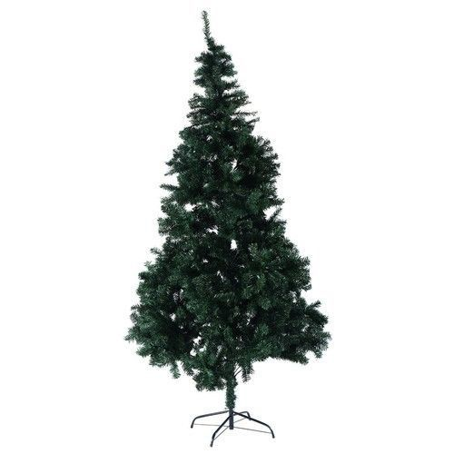 Artificial Christmas Tree PVC 8 Ft w/Stand Holiday Season Indoor Outdoor Green #1