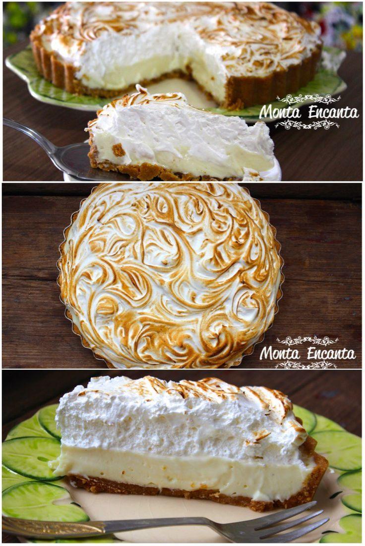 Eu não sei você , mas eu sou completamente apaixonada por Torta de Limão. E a receita de hoje, é a melhor, a mais mais, a TOP das receitas.