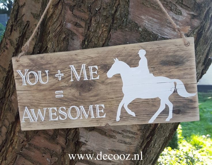 'You + Me = Awesome' - www.decooz.nl