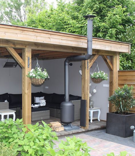 Find this Pin and more on Outdoor Rooms. Wood stove ... - Best 20+ Outdoor Wood Burner Ideas On Pinterest Camping Wood