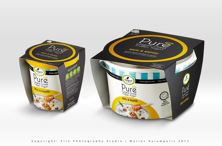 New product for Dafni Greek dairy products campaign.