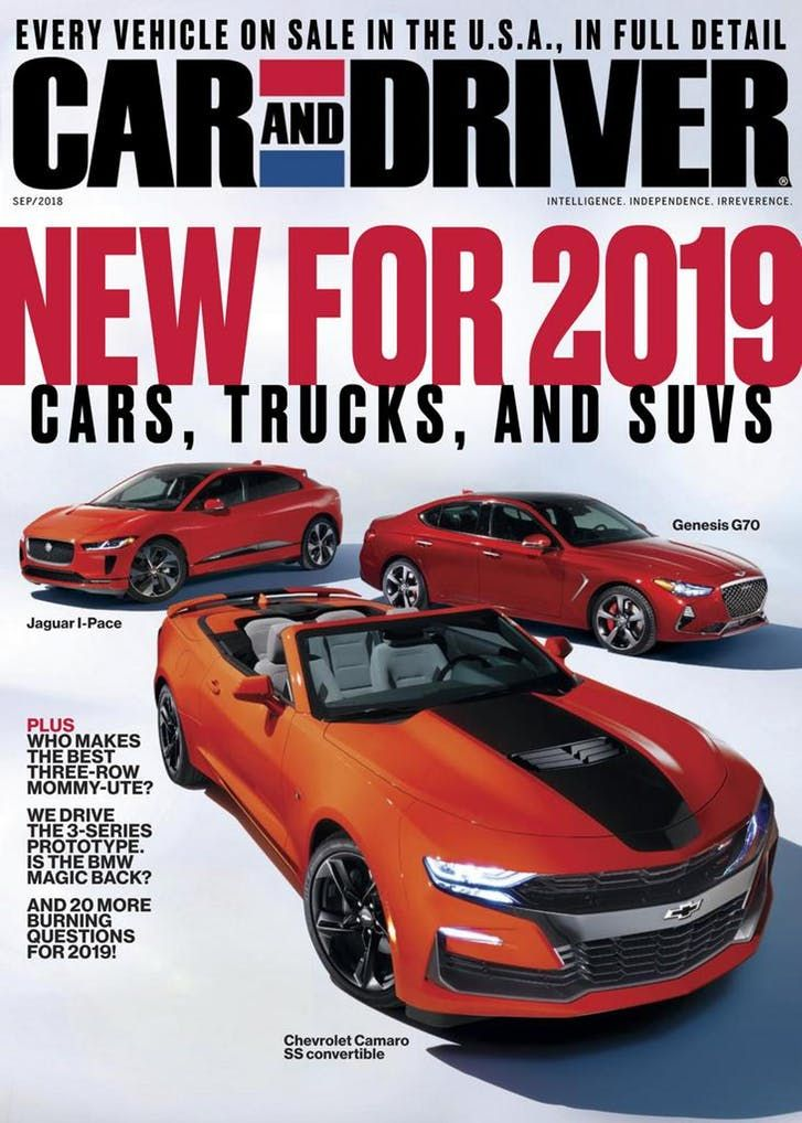 Car And Driver September 2018