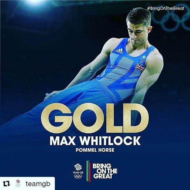 #Repost Team GB with @repostapp ・・・ GOOOOLLDDD!! Max Whitlock, you are reshaping…