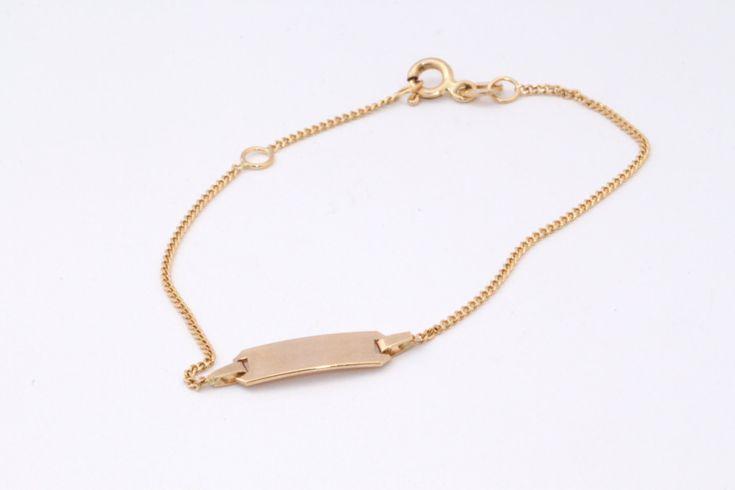 Gold Bracelet | Gold Chain bracelet with disc | 14k Bead Gold Bracelet, Bridal Jewelry | Women Bracelet, Anniversary gifts | Chain bracelet by LIRANSHANI on Etsy