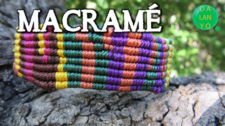 700 best images about macrame video tutorials on pinterest - Macrame paso a paso ...