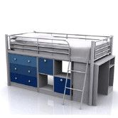 Found it at Wayfair.co.uk - Berry Metal Mid Sleeper Bunk Bed