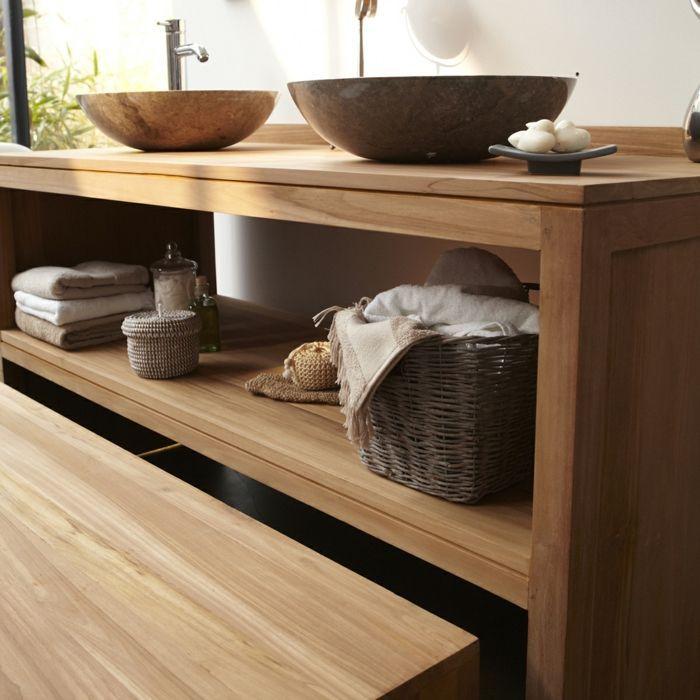 Badezimmer Ideen Aus Holz Waschtisch Aus Holz Und Andere