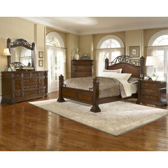 California King Bedroom Set: Progressive 6-Piece California King Bedroom Set