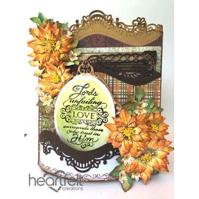 Heartfelt Creations - Blooming Sunflowers Foldout Card Project  #thanksgiving #fall #HeartfeltCreations