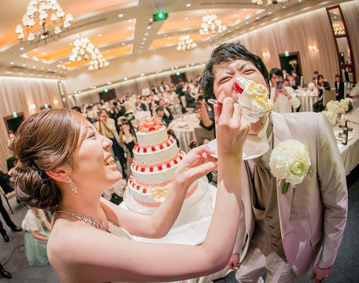 結婚式当日スナップ ケーキ入刀編 | 写真撮影なら小西ヤスノリへ