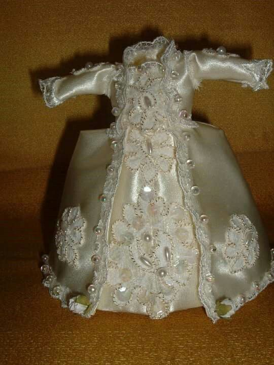 12 scale wedding dress