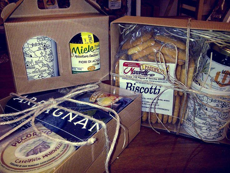 Garfagnana's typical products.