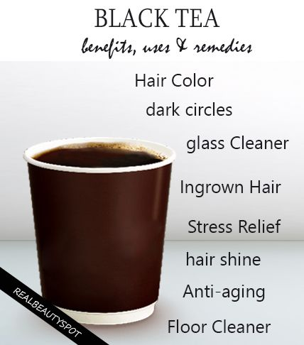 DIY Black tea for beauty, health and home