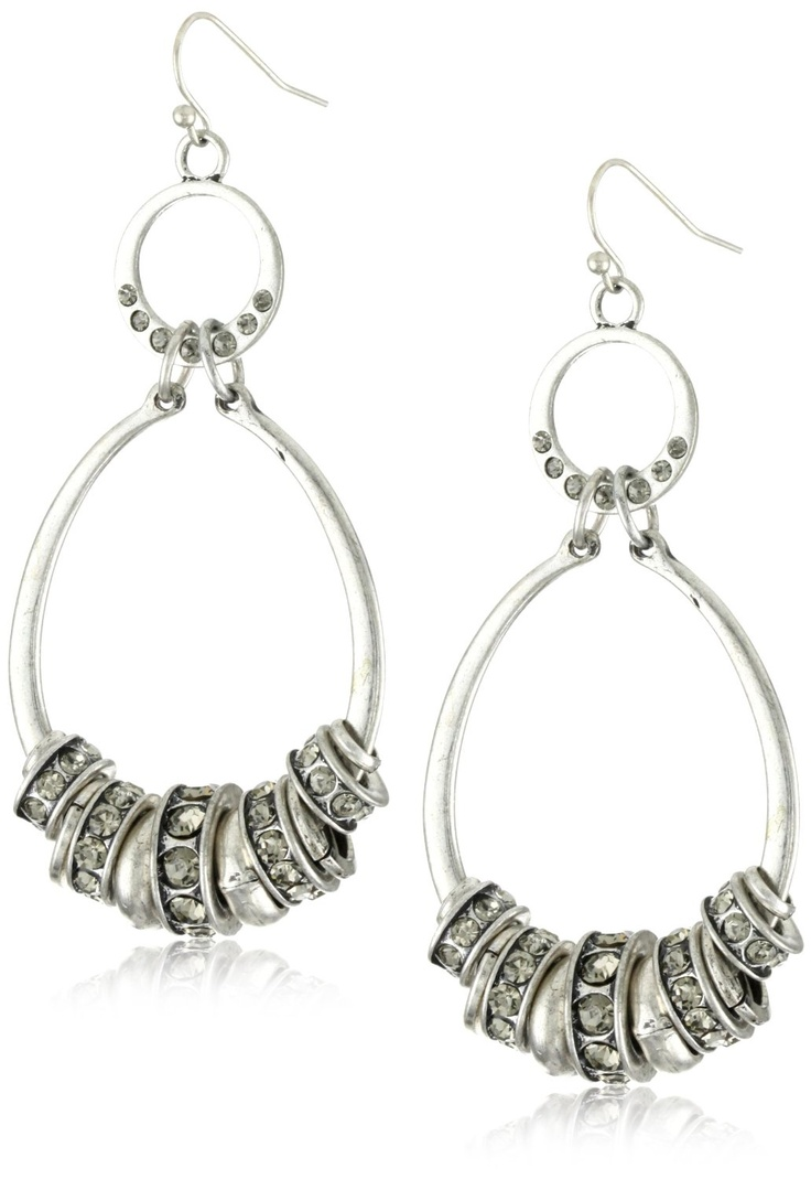 Find This Pin And More On Brighton Love Shop For Medium Double Hoop  Earrings
