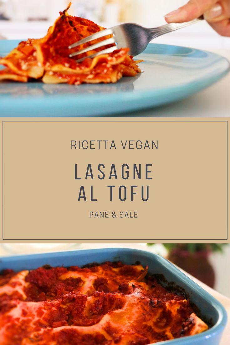LASAGNE ROSSE AL TOFU, una ricetta vegan facile e veloce da realizzare!