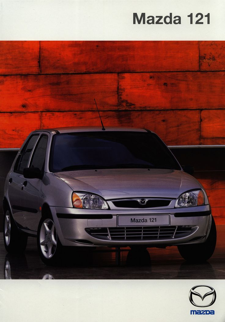 https://flic.kr/p/GnYTrG | Mazda 121; 2000_1 | front cover car brochure by worldtravellib World Travel library