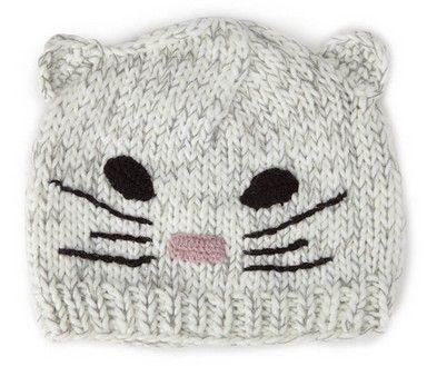 Un bonnet chat pour l'hiver ♥