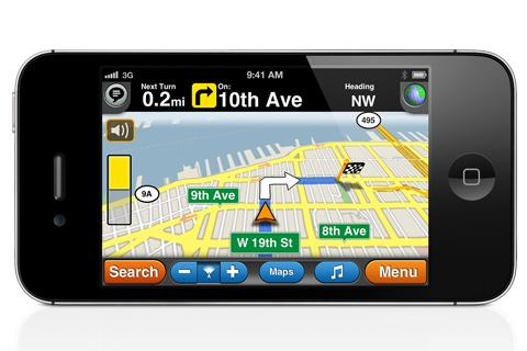 GPS Drive MotionX app is free. It is an accurate GPS