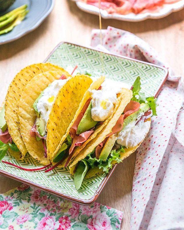Se volete provare la bresaola 🌟 in un modo un pochino diverso dal solito 😋vi consiglio questi tacos meravigliosi 😻