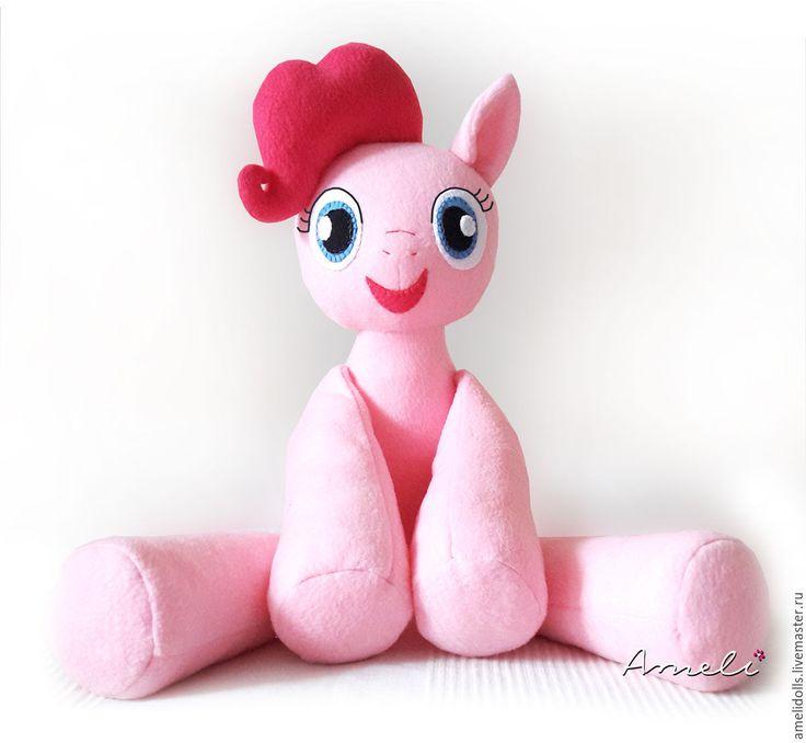 Купить Пони Пинки Пай мягкая игрушка-обнимашка - пони радуга, пони, пинки пай