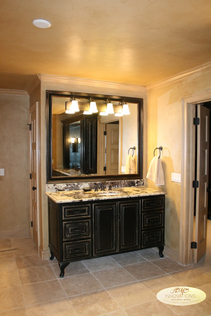 Travertine Stone Tile Venetian Plaster Glazed Walls
