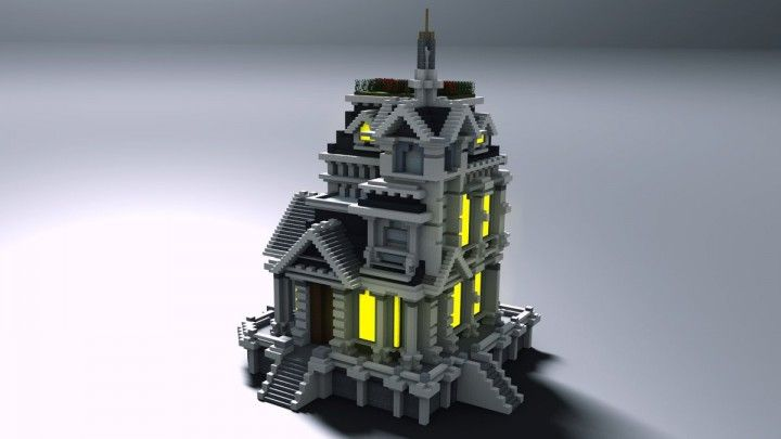 Small Baroque House Minecraft Map