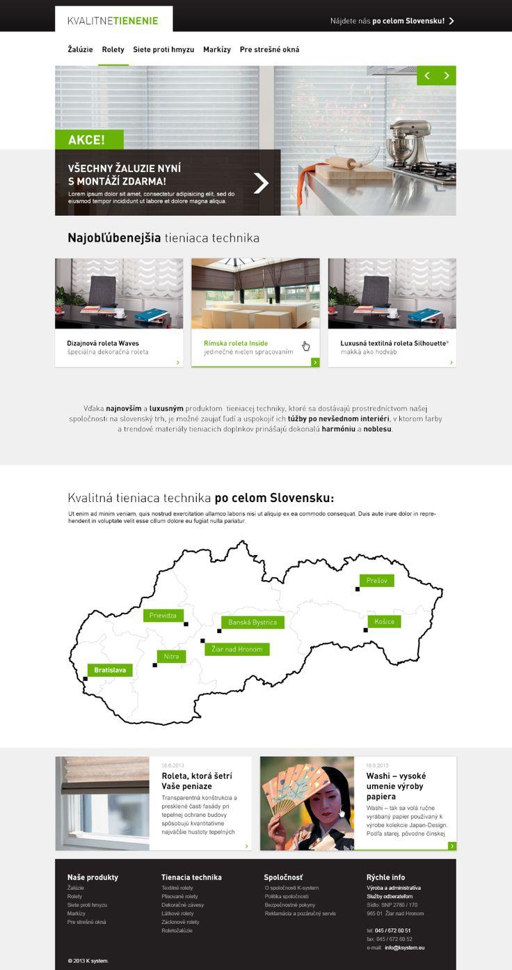 Kvalitne tienenie #webdesign