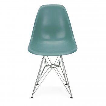 Teal Eames Designed DSR Eiffel chair