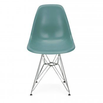 Teal Eames Designed DSR Eiffel chair