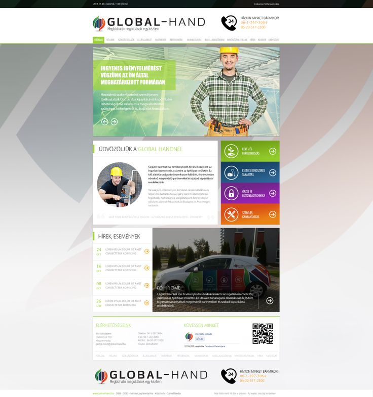 Global Hand new website