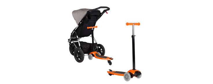 Buy your freerider buggy board & child scooter online - attaches to any MB stroller plus many other brands. Freerider also transforms into a kids scooter