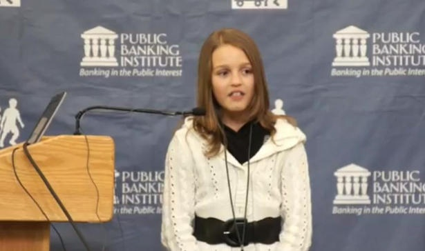 12-year-old Ontario girl slams modern banking system, becomes YouTube hit
