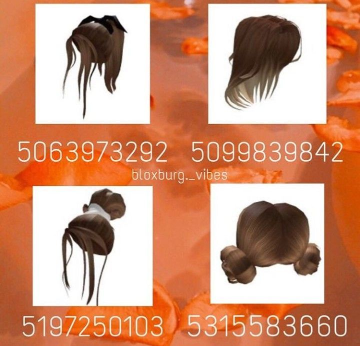 Hair Code In 2020 Custom Decals Decal Design Roblox Codes
