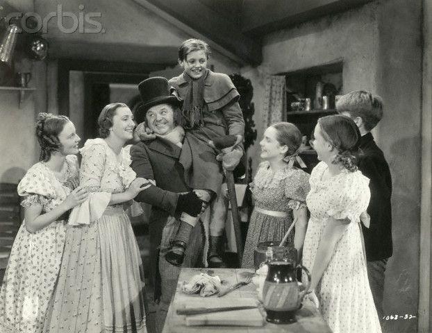 Cratchit Family in A Christmas Carol | Xmas Carol | Pinterest
