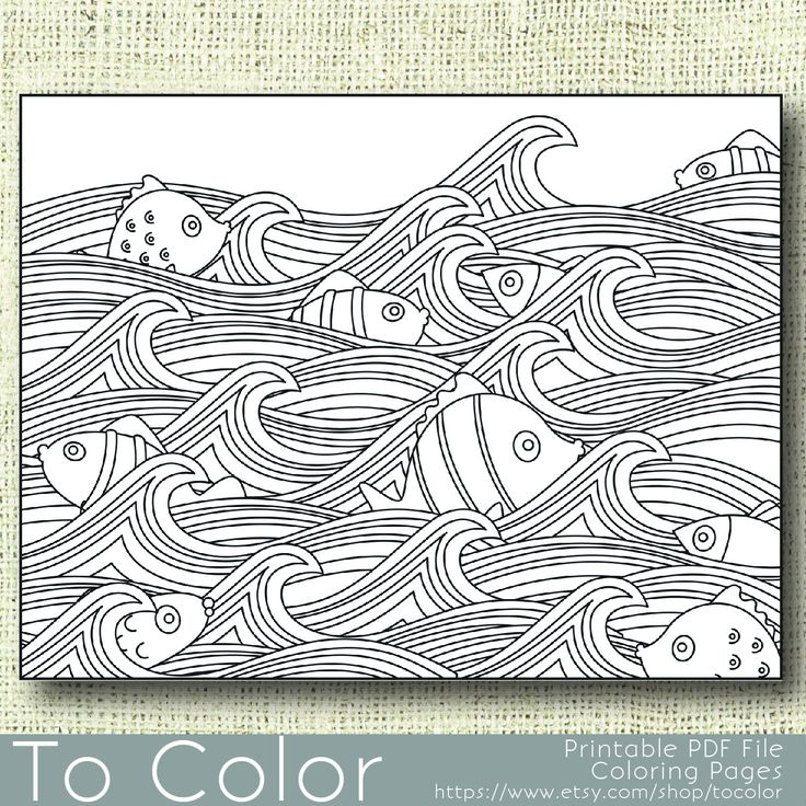 555 best Beach coloring pages images on Pinterest ...