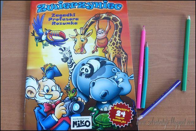 Zebra Testuje: Wydawnictwo NIKO - Zwierzyniec Zagadki Profesora R...