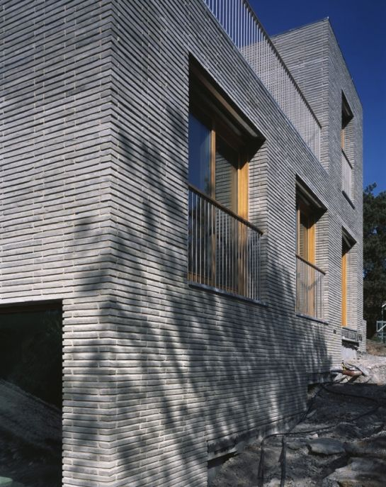 Brick residence