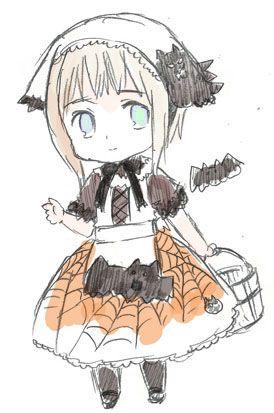 Lichtenstein Halloween by Himaruya