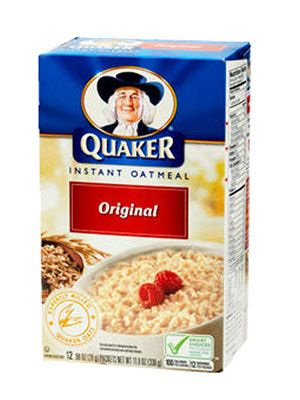 """For a quick fall breakfast, Quaker Instant Oatmeal was praised by our testers for its """"toasty"""" flavor and """"perfect consistency."""" #quaker"""