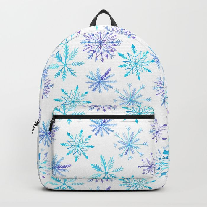 Buy Snowflakes Backpack by augustinet. Worldwide shipping available at Society6.com. Just one of millions of high quality products available.