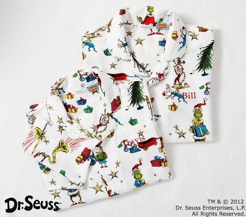 Adult Grinch Pajamas Pottery Barn Kids Merry Christmas