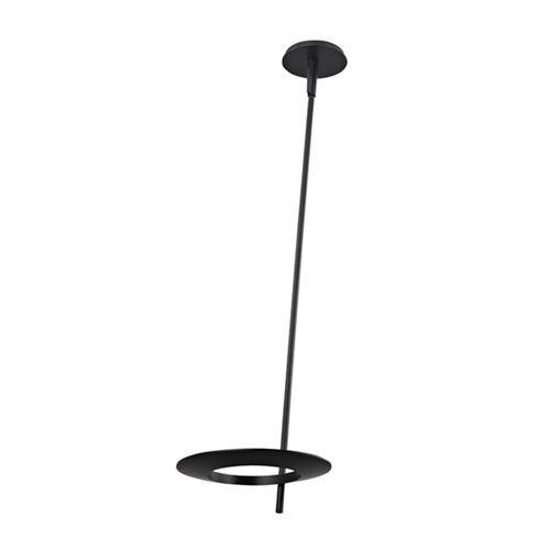 Ringlo Satin Black LED 36-Inch Pendant
