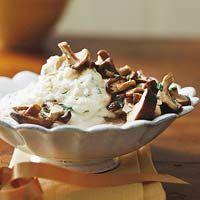 Mashed Potatoes with Shiitake Mushroom Gravy Recipe