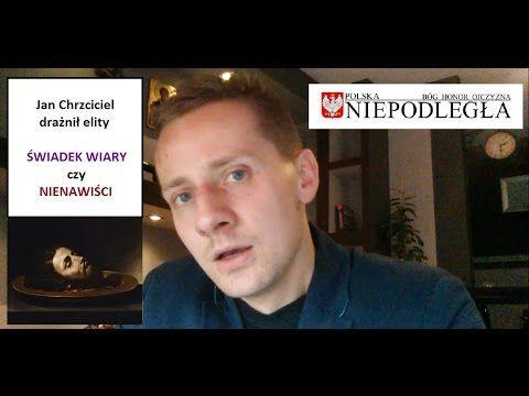 """Jacek Międlar w najnowszym filmie na niedzielę! """"Świadek wiary drażni elity"""""""