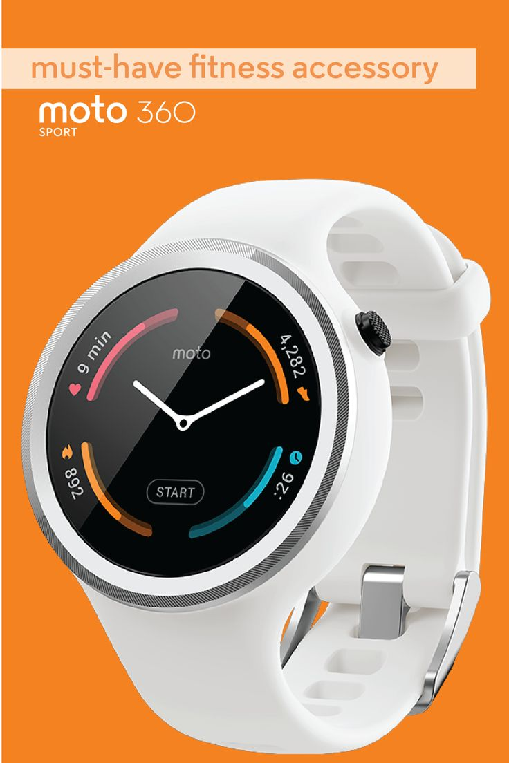 Give her the gift of fitness with the versatile athletic watch designed to keep up with her. The Moto 360 Sport comes in a variety of color options and offers built-in GPS and full connectivity with her favorite fitness apps. All-day battery life and TurboPower charging means it doesn't stop working until she does.