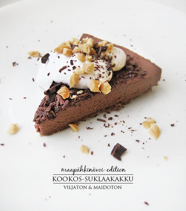 Peanutbutter & chocolate cake